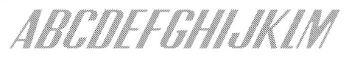 CA SpyRoyal Line Font UPPERCASE