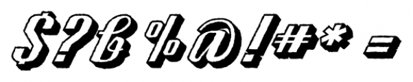 CA SpyRoyal ShadowRaw Font OTHER CHARS