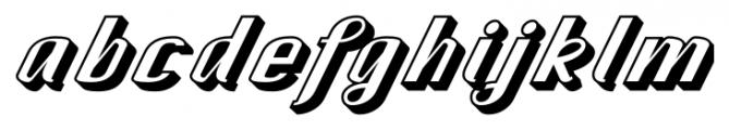 CA SpyRoyal Shadow Font LOWERCASE