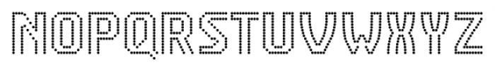 CA VivaLasVegasNight Regular Font UPPERCASE