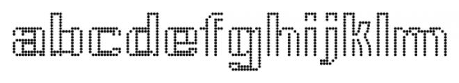 CA VivaLasVegasNight Regular Font LOWERCASE
