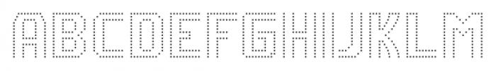 CA VivaLasVegasNight UltraLight Regular Font UPPERCASE