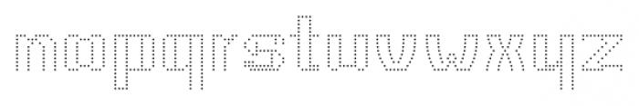 CA VivaLasVegasNight UltraLight Regular Font LOWERCASE