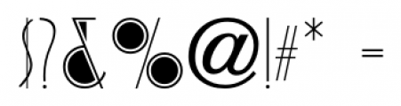 Cafe Society JNL Regular Font OTHER CHARS