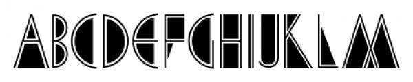 Cafe Society JNL Regular Font LOWERCASE
