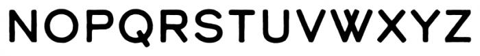 Calder Dark Font LOWERCASE