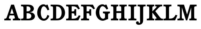 Calgary Bold Font UPPERCASE