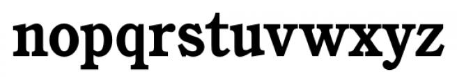 Calgary Bold Font LOWERCASE