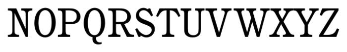 Calgary Book Font UPPERCASE