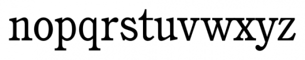 Calgary Book Font LOWERCASE