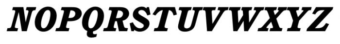 Calgary Heavy Italic Font UPPERCASE