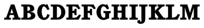Calgary Heavy Font UPPERCASE