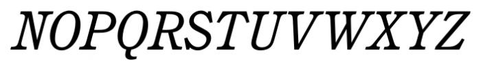 Calgary Italic Font UPPERCASE