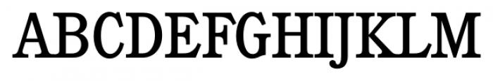 Calgary Serial Regular Font UPPERCASE