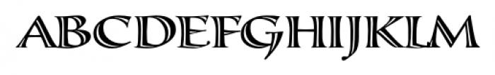 Calligraphica  Regular Font UPPERCASE