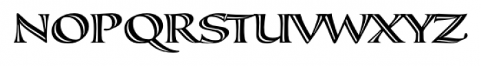 Calligraphica  SX Regular Font UPPERCASE