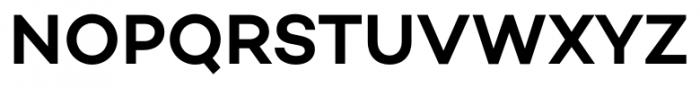 Campton SemiBold Font UPPERCASE