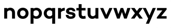 Campton SemiBold Font LOWERCASE