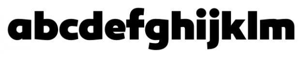 Canaro Black  Font LOWERCASE