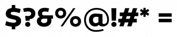 Canaro Bold Font OTHER CHARS