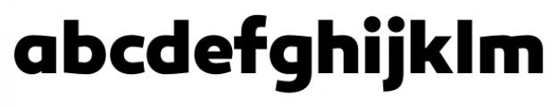 Canaro ExtraBold Font LOWERCASE