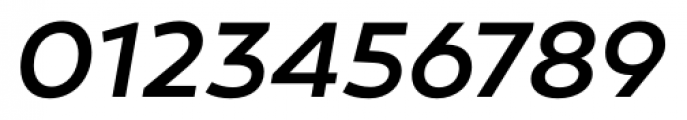 Canaro Medium Italic Font OTHER CHARS