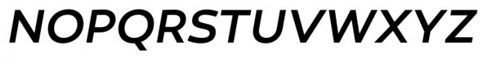 Canaro Medium Italic Font UPPERCASE