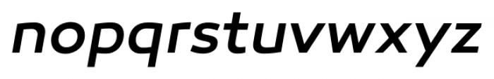 Canaro Medium Italic Font LOWERCASE