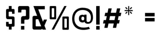 Canby JNL Regular Font OTHER CHARS