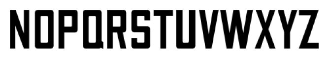 Canby JNL Regular Font UPPERCASE