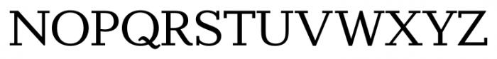 Candela Regular Font UPPERCASE