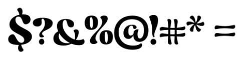Candelivers Regular Font OTHER CHARS