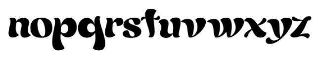Candelivers Regular Font LOWERCASE