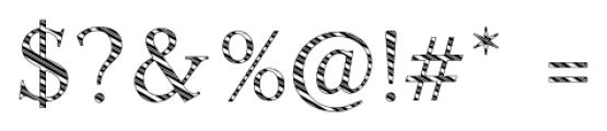 Candy Cane Lane Regular Font OTHER CHARS