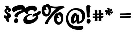 Candy Script Regular Font OTHER CHARS