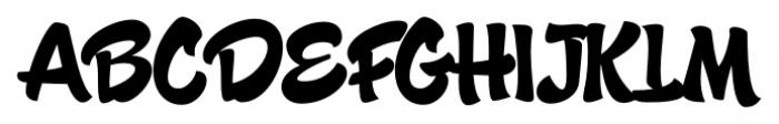 Candy Script Regular Font UPPERCASE