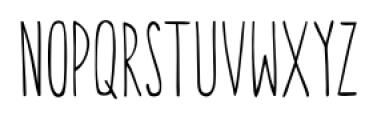 Canoe Regular Font UPPERCASE