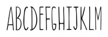 Canoe Regular Font LOWERCASE