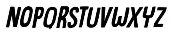 Canoodle Italic Font UPPERCASE