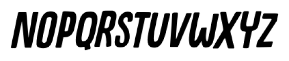 Canoodle Italic Font LOWERCASE