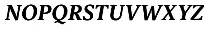 Capitolina Bold Italic Font UPPERCASE