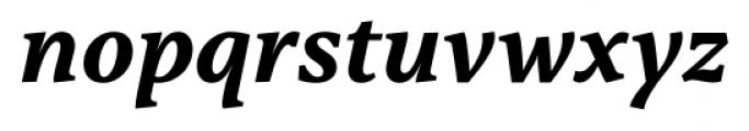 Capitolina Bold Italic Font LOWERCASE