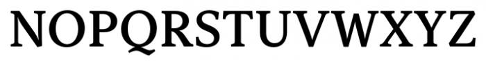 Capitolina Semi Bold Font UPPERCASE
