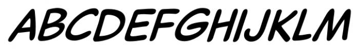 Captain Comic Pro Italic Font LOWERCASE
