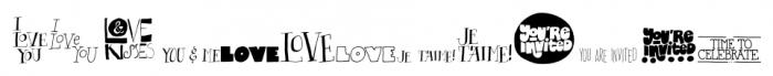CardOMat Messages Font UPPERCASE
