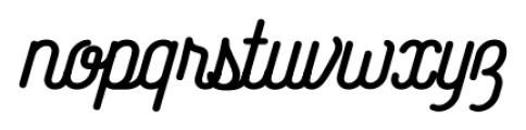 Catfish Bold Font LOWERCASE