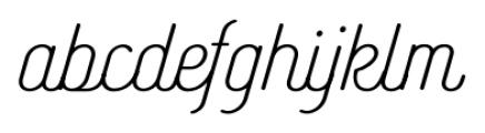 Catfish Regular Font LOWERCASE