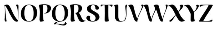 Caturrita Display Bold Font UPPERCASE