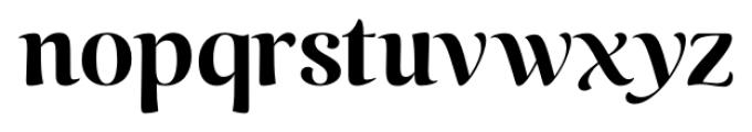 Caturrita Display Bold Font LOWERCASE