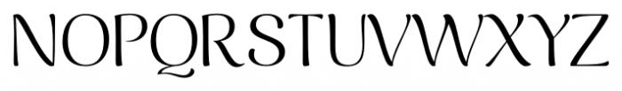 Caturrita Display Light Font UPPERCASE
